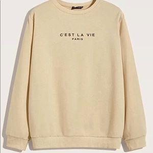 C'est la vie pullover